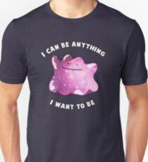 Ditto Pokemon Inspiration Unisex T-Shirt