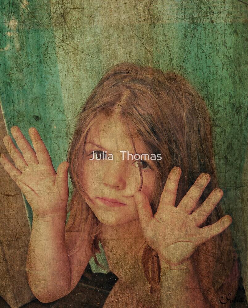 Peeking by Julia  Thomas