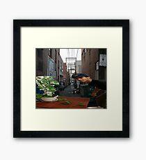 organicsnakeoil Framed Print