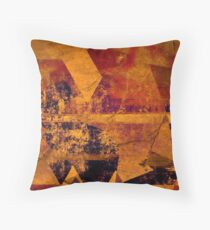 Organic Industrial Throw Pillow