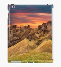 Iceland Sunset Motion Fantasy iPad Case/Skin