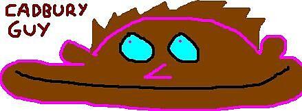 cadbury guy by keslan