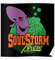 SoulStorm Brew Merchandise Poster