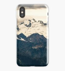 Glaciers in the North Cascades iPhone Case