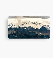 Glaciers in the North Cascades Canvas Print