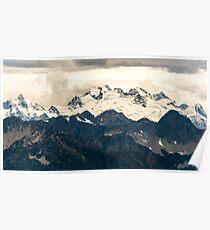 Glaciers in the North Cascades Poster