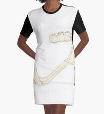 Snow White's Shoe Graphic T-Shirt Dress