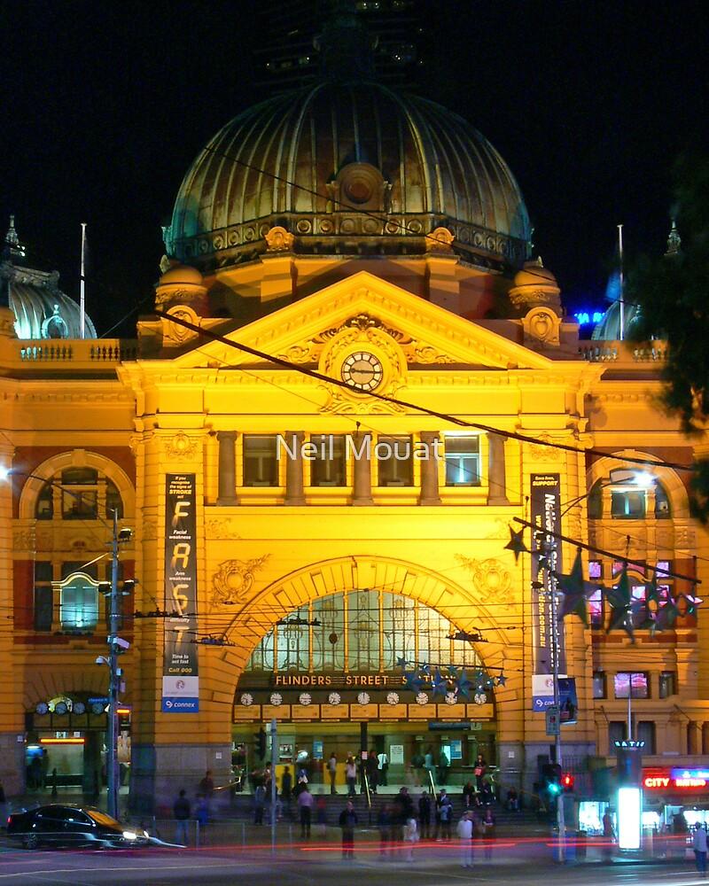 Flinders Street Station by Neil Mouat