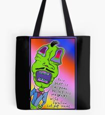 let, not made Tote Bag