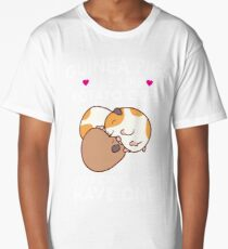 Guinea Pigs Are Like Potato Chips Funny Quote Cute  Long T-Shirt