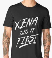 Xena Did It First! Men's Premium T-Shirt