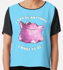 e806b64cb Suave Ditto Slim Fit T-Shirt. Ditto Pokemon Inspiration Chiffon Top