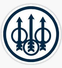 Beretta Logo Gun Merchandise Sticker