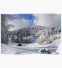 Switzerland, Laax Poster