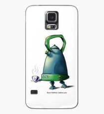 Kettle-bot is here to save Teatime! Case/Skin for Samsung Galaxy
