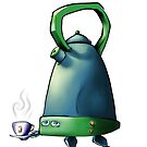 Kettle-bot is here to save Teatime! by Byron  McBride