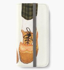 Two Tone Oxfords iPhone Wallet/Case/Skin