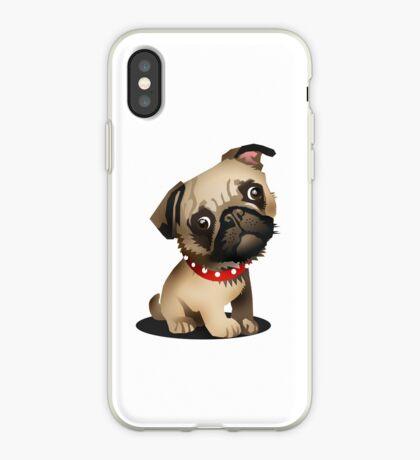 Pug pup iPhone Case