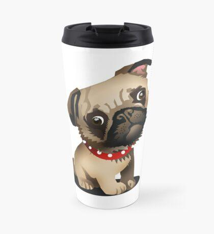 Pug pup Travel Mug