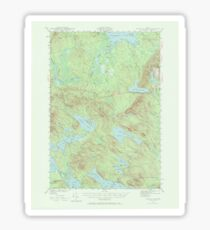 Maine USGS Historical Map Scraggly Lake 306759 1941 62500 Sticker