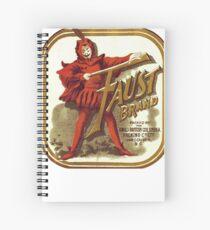 Faust Spiral Notebook