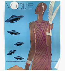 Póster Vintage Vogue Enero-1933