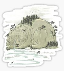 Hibernature Sticker