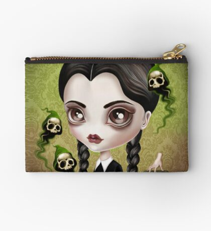 Be Afraid (Wednesday) Zipper Pouch