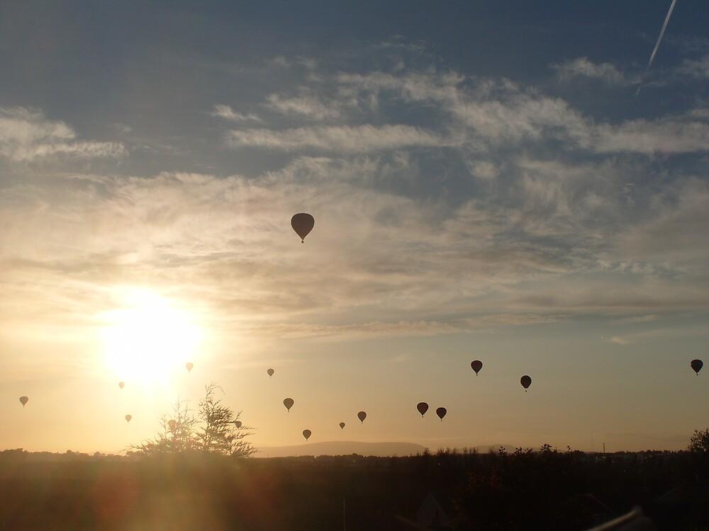 Hot Air Balloon's by Eoin Atkins