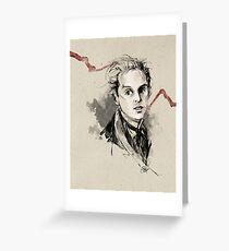 Professor Moriarty Greeting Card