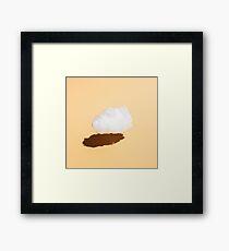 Lone Little Cloud Framed Print