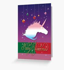 Merry Queermas - Version 2 Greeting Card