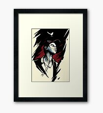 The Thieving Magpie Framed Print