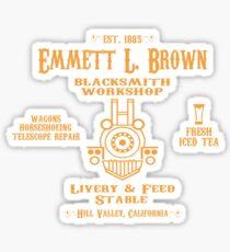 Emmett's Blacksmith Workshop Sticker