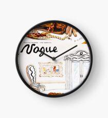 Vintage Vogue January - 1936 Clock