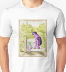 Twilight and Spike in Hundred Acre Wood Unisex T-Shirt