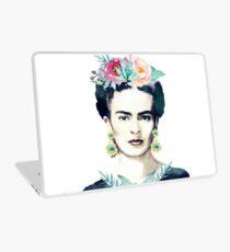 Watercolor Frida Kahlo  Laptop Skin