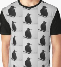 Windswept raven  Graphic T-Shirt