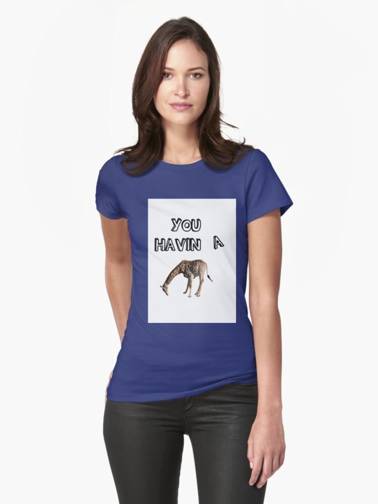 "Top You having a giraffe?"" Unisex T-Shirt by Terrinps | Redbubble CR46"