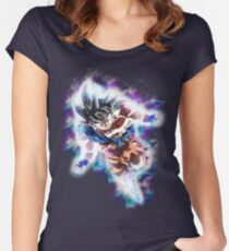 Ultra Instinct Goku Women's Fitted Scoop T-Shirt