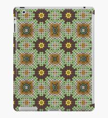 Grandma's knitted squares No 4. iPad Case/Skin