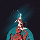 WOMAN IN SPACE by snevi