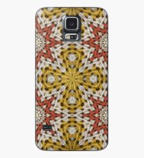 Grandma's knitted square No2. Case/Skin for Samsung Galaxy