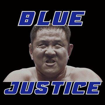 Blue Justice by martyrofevil