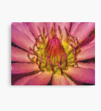 Lily Art Canvas Print