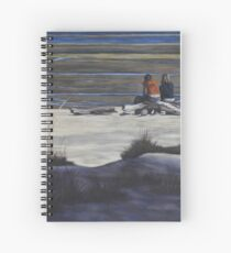 Shared Moments on the Beach Spiral Notebook