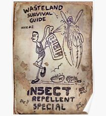 Fallout 4 Wasteland Survival Guide #2 Insect Repellent Special Poster