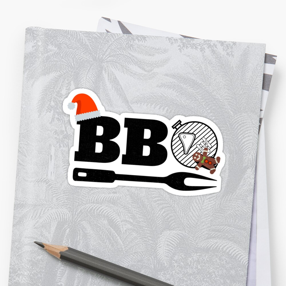 Christmas BBQ Smoker T-Shirt Holiday Grill Xmas Barbecue Tee ...