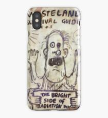 Fallout 4 Wasteland Survival Guide #3 The Bright Side of Radiation Poisoning iPhone Case/Skin