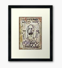 Fallout 4 Wasteland Survival Guide #3 The Bright Side of Radiation Poisoning Framed Print
